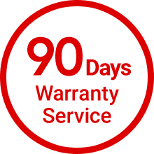 90Days Warranty Searvice